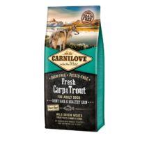 Carnilove Fresh Adult Dog ponty & pisztráng - Hair & Healthy Skin 12kg