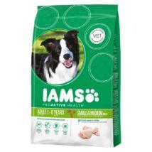Iams Dog Adult Small&Medium csirke 12kg