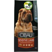Cibau Sensitive Lamb Medium/Maxi 12+2kg Promo
