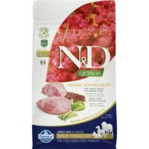 N&D Dog Quinoa Weight Management Bárány 800g