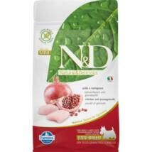 N&D Dog Grain Free csirke&gránátalma adult mini 800g