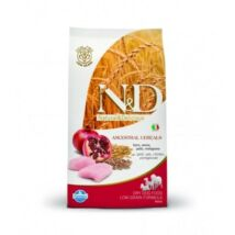 N&D Dog Low Grain csirke&gránátalma adult mini 800g