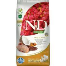 N&D Dog Quinoa Skin&coat Fürj 7kg