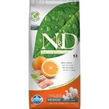 N&D Dog Grain Free hal&narancs adult medium 12kg