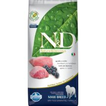 N&D Dog Grain Free bárány&áfonya adult maxi 12kg