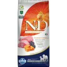 N&D Dog Grain Free bárány&áfonya sütőtökkel adult medium/maxi 12kg