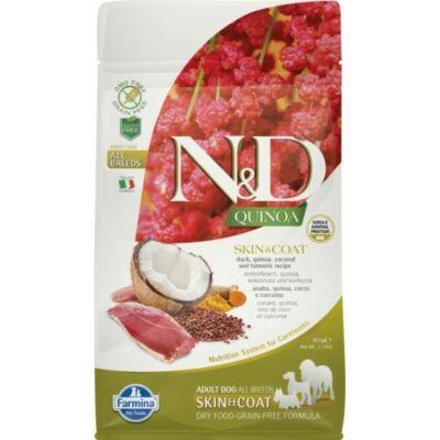 N&D Dog Quinoa Skin&coat Kacsa 800g